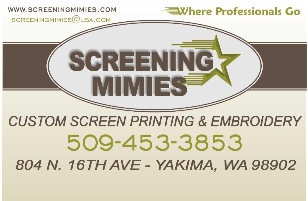 Screen Printing Amp Embroidery Shop Yakima Wa Screening